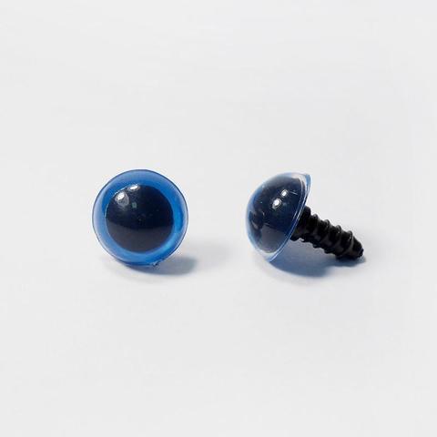 Глазки пластиковые с фиксатором 14 мм