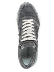 Замшевые кроссовки Premiata Mick 3821 с перфорацией