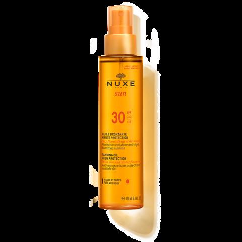 Nuxe Масло для загара NUXE SUN SPF 30