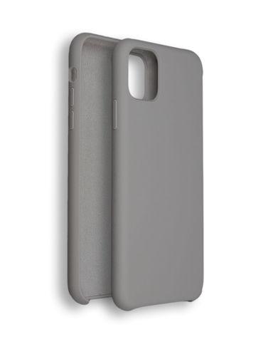 Чехол для iPhone 11 Софт Тач мягкий эффект | микрофибра светло-бежевый