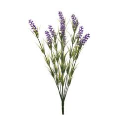 Веточка лаванды искусственная с 9 цветками 46см Garda Decor 8J-12MB0001