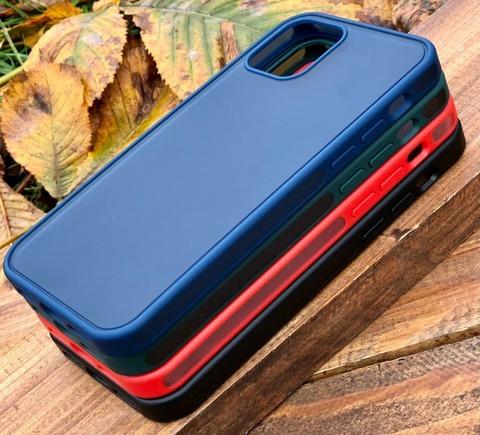 Чехол iPhone 12 Pro /6,1''/ iPaky Knight series /red/