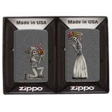 Набор зажигалок ZIPPO Влюбленные зомби (28987)