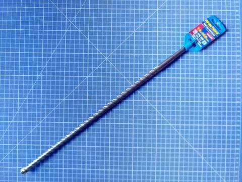 Бур SDS-plus ПРАКТИКА  14 х 400/460 мм, Х-тип серия
