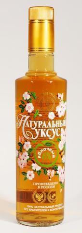 Уксус Яблочный 6%, 500 мл. (Мирный)