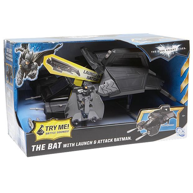 Dark Knight Rises The Bat with Launch & Attack Batman