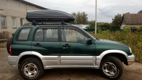 Автобокс Way-box 460 на крышу Suzuki Grand Vitara