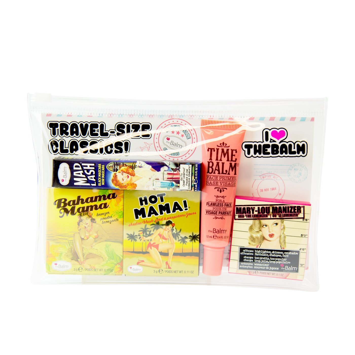 Набор The Balm Travel-Size Classics