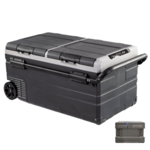 Компрессорный автохолодильник ALPICOOL ETWW95 (95 л.) 12-24-220В