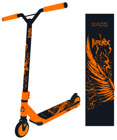 Трюковой самокат Xaos Phoenix 100 мм