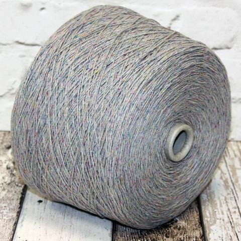 Твид c шелком TECLA 350 серый мультиколор