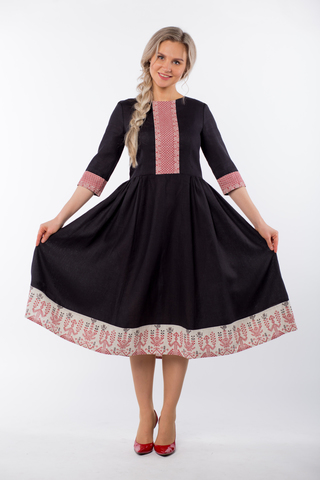 Платье Миди Чистое поле Макошь