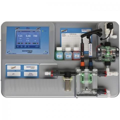 Авт.станция дозир и контр.  WATERFRIEND exclusiv Chlor MRD-3 (PН/RX/CL), без насосов, web-сервер OSF (Германия)