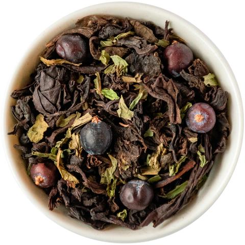 Таежный чай с можжевельником, мятой и пуэром