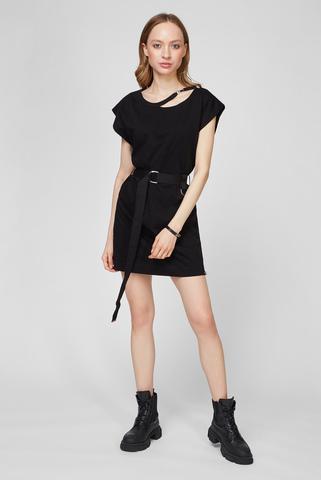 Женское черное платье D-EASY Diesel