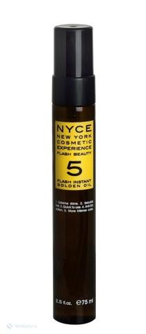 Масло для волос Золотая Вуаль Flash Beauty 5 Flash Instant Golden Oil — 75 мл