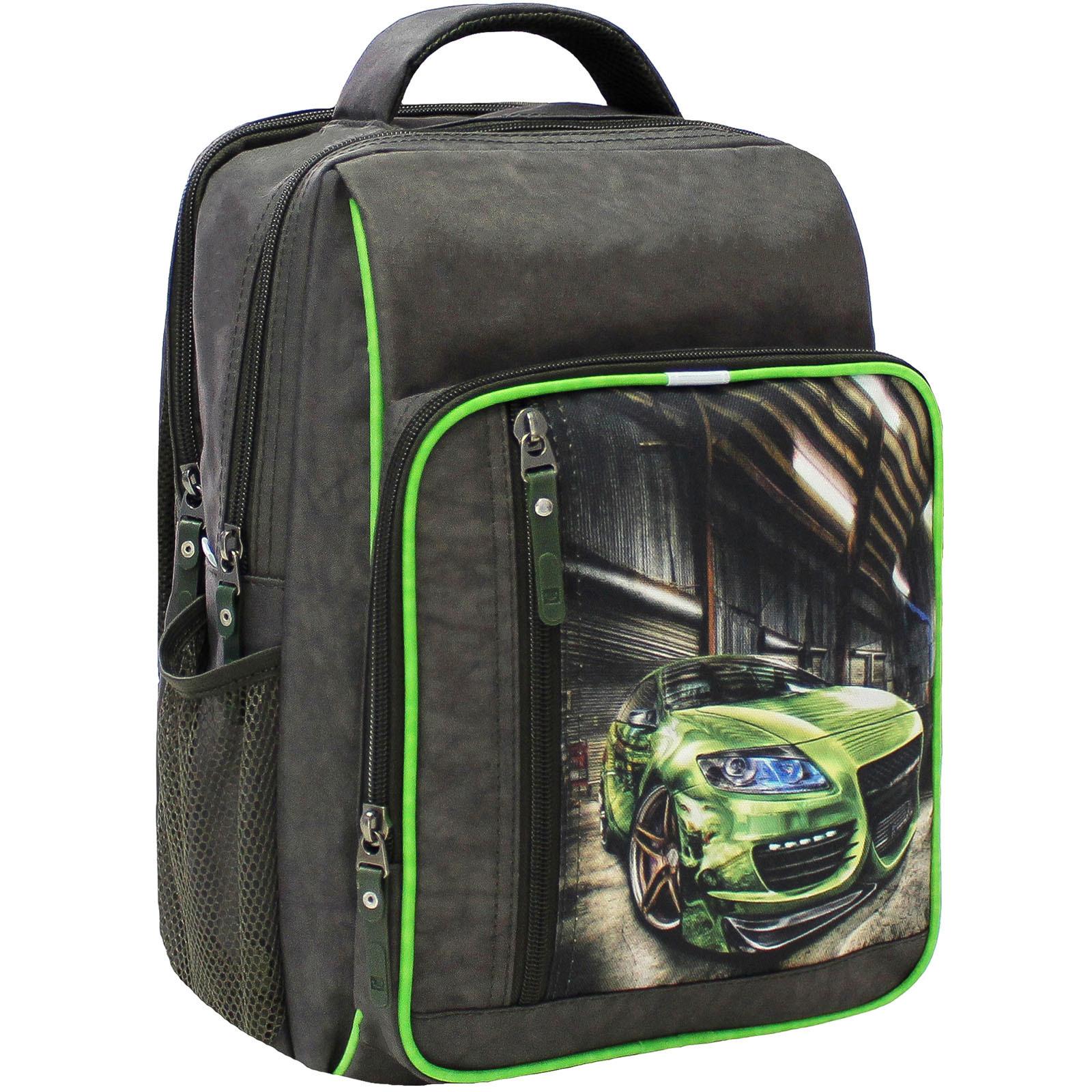 Школьные рюкзаки Рюкзак школьный Bagland Школьник 8 л. 327 хаки 54м (0012870) IMG_5334.JPG