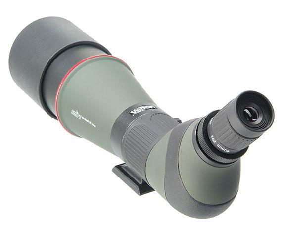 Окуляр труба Veber Snipe 20-60x80 с наклонной оптической осью