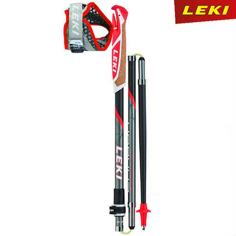 Скандинавские палки Leki Micro Trail Vario Red Premium Carbon 100% Германия