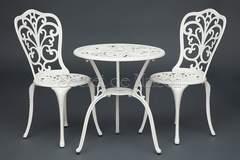 Комплект Secret De Maison Романс (Romance) (стол +2 стула) — черный