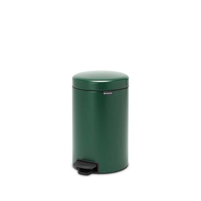Мусорный бак newIcon (12 л), Зеленая сосна, арт. 304040 - фото 1