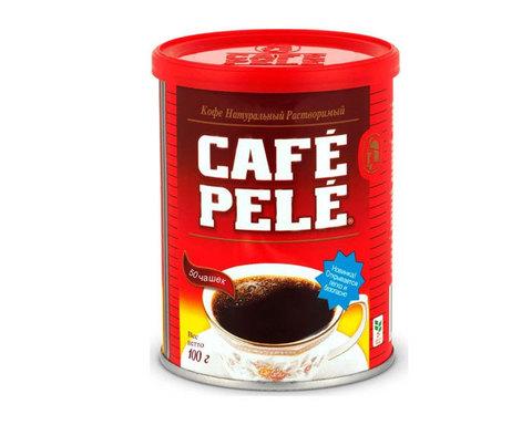 купить Кофе растворимый Cafe Pele, 100 г жестяная банка