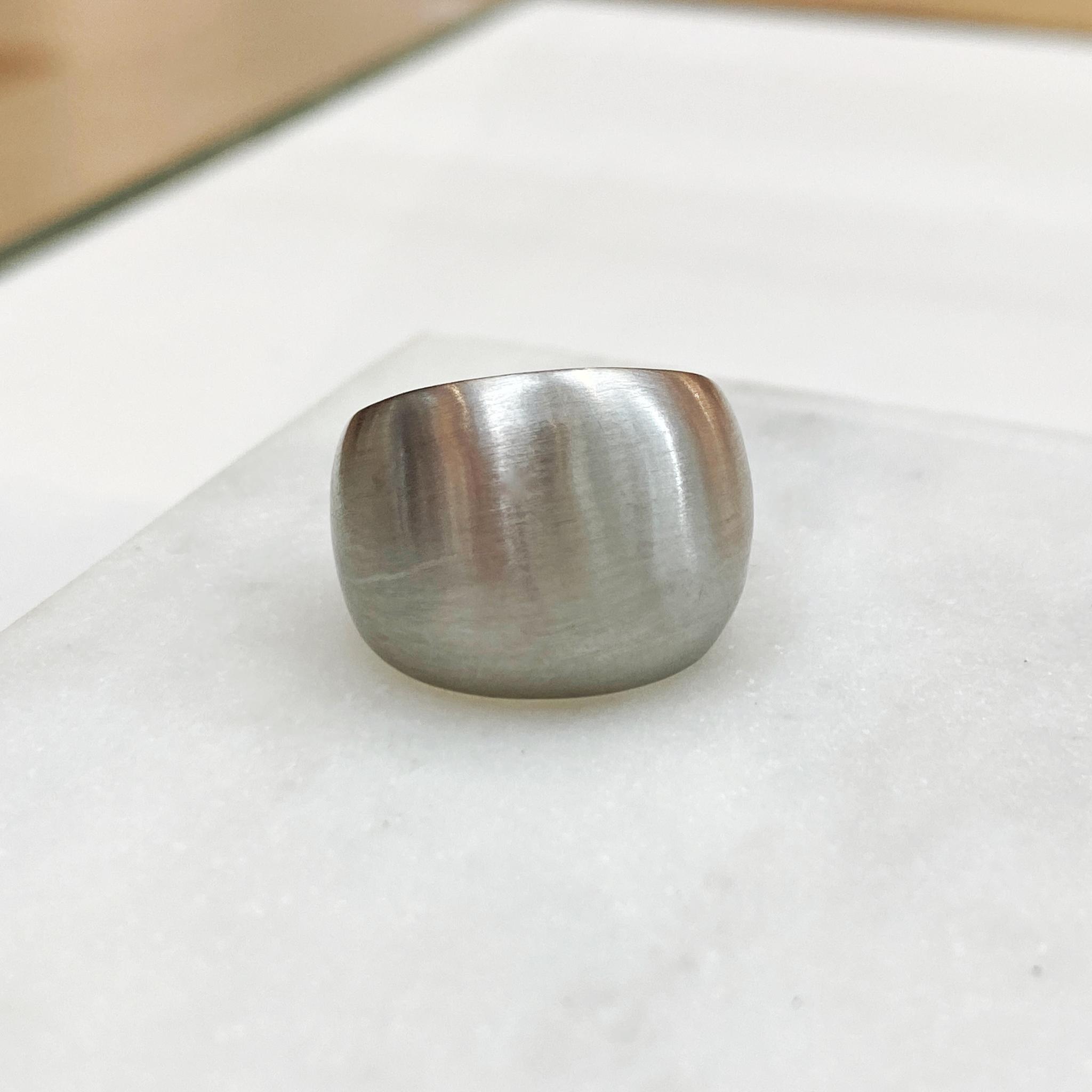 Кольцо Vi базовое выпуклое стальной