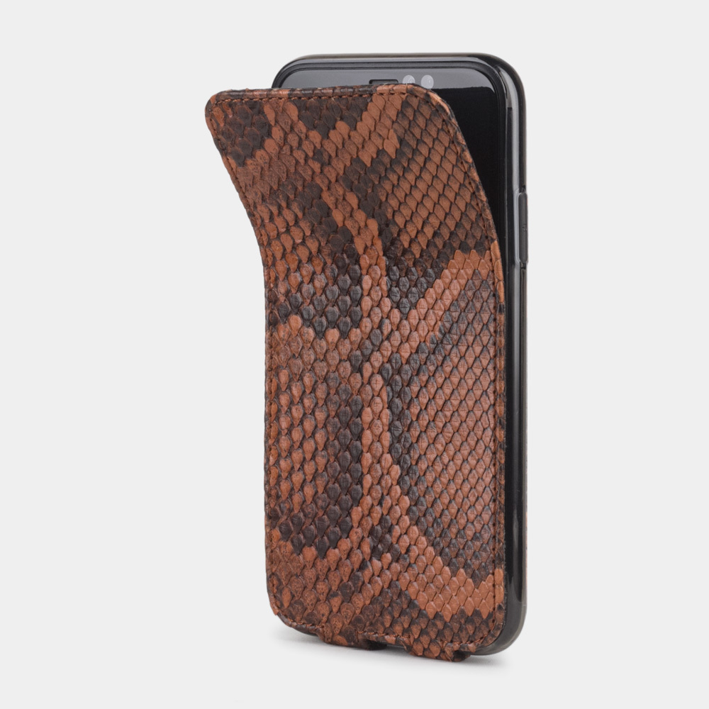 Case for iPhone XR - python gold