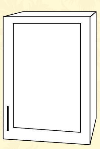 Империя ПС 400 Шкаф верхний стекло