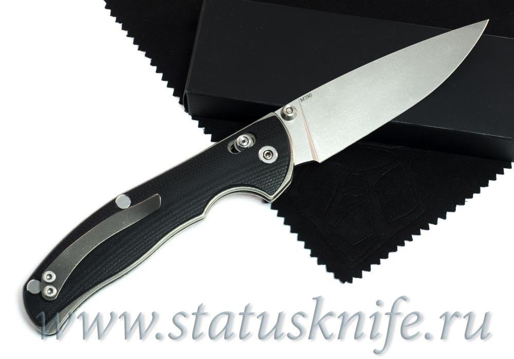 Нож Широгоров Табарган 100NS M390 G10 3D черная - фотография