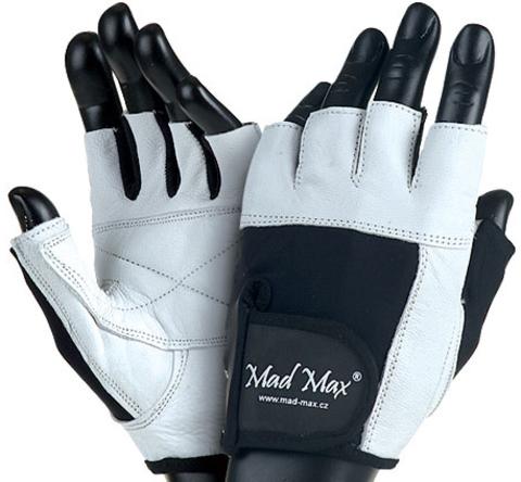 Перчатки  Fitness White
