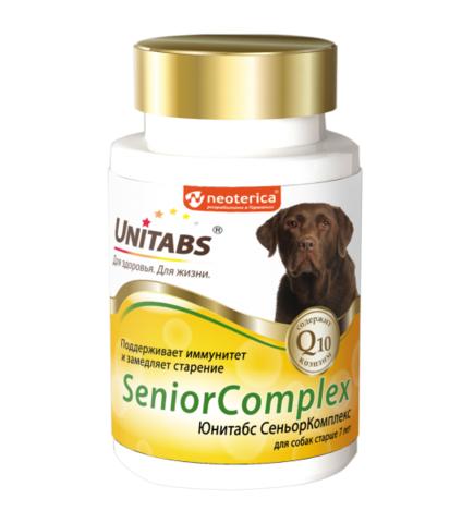 ЮНИТАБС SeniorComplex для собак старше 7 лет, 100 таб.