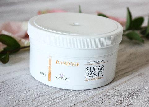 Сахарная паста для шугаринга YUSKISS 200гр  (BANDAGE) пробник