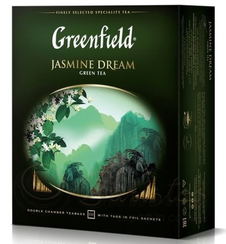 Чай зелёный Greenfield Jasmine Dream 100*2г