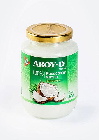 Масло кокосовое Extra Virgin Aroy-D, 450мл