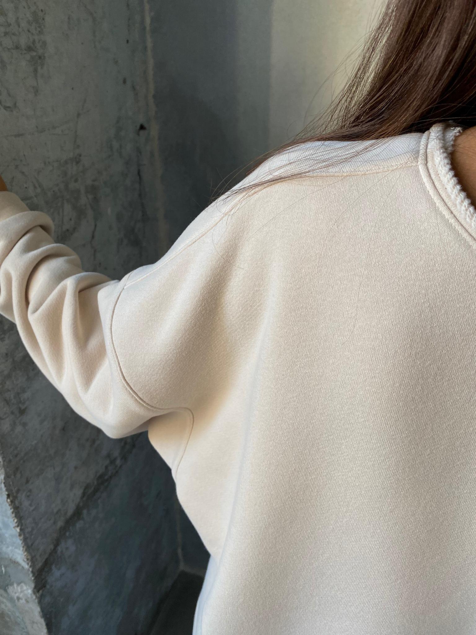 Свитшот с вышивкой