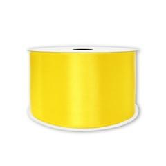 Лента атласная Желтый, 12 мм * 22,85 м