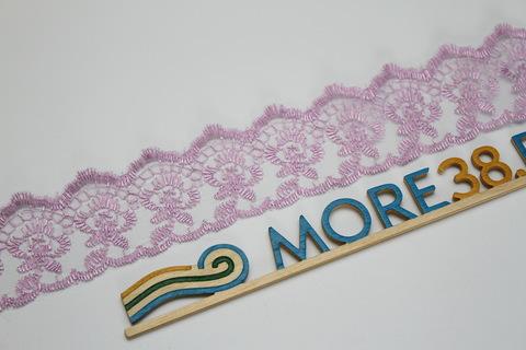 Кружево фиолетовое, 3,5 см