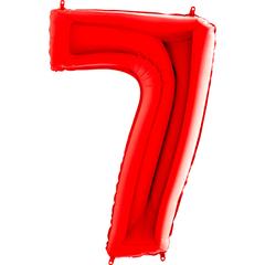 Цифра 7 (Красная)