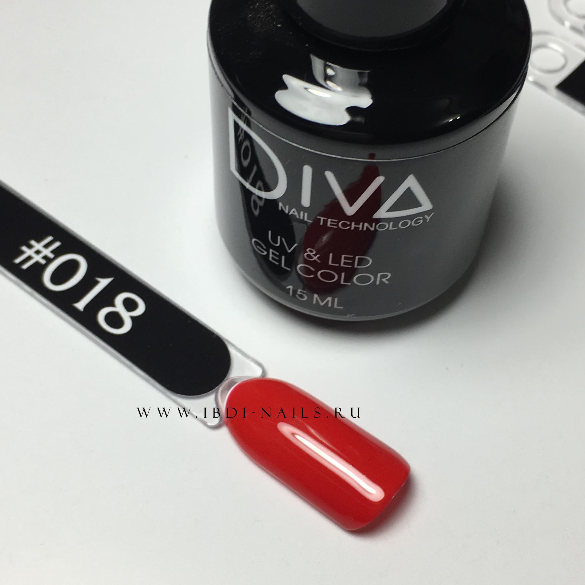 Гель-лак DIVA 018 15мл