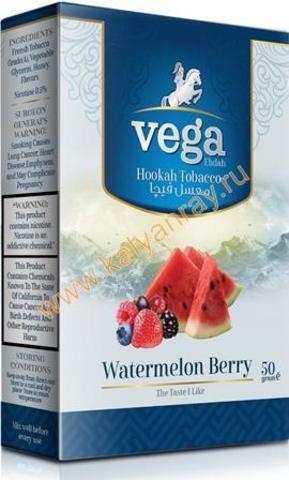 Табак Vega Арбуз с Ягодами в пачке 50 грамм