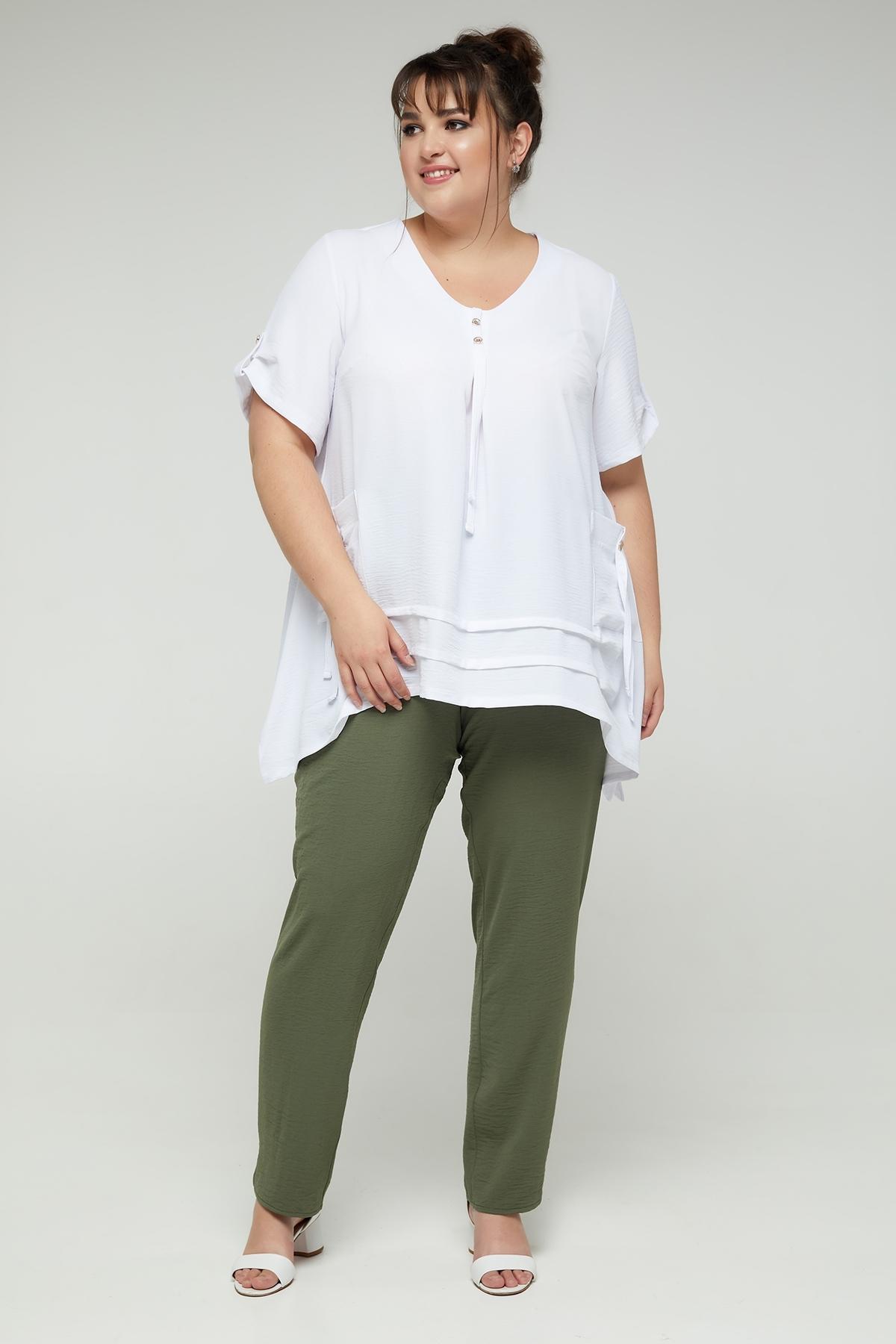 Блуза Аміра (білий)