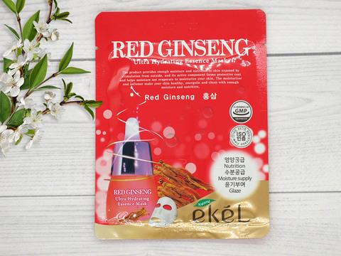 270118 EKEL Тканевая маска для лица с экст. красного женьшеня Red ginseng