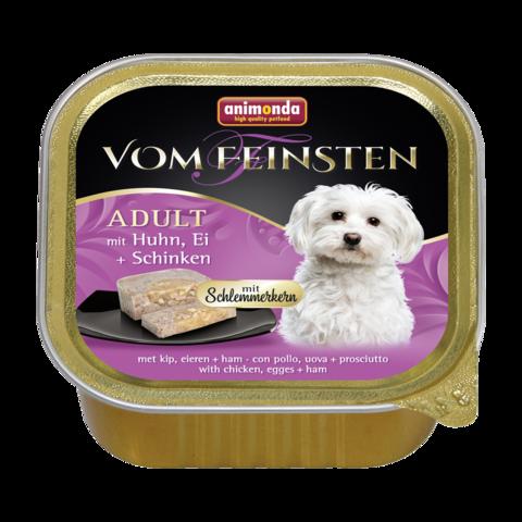 Animonda Vom Feinsten Adult Меню для гурманов Консервы для собак с курицей, яйцом и ветчиной (Ламистер)