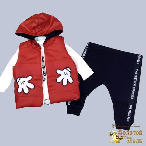 Костюм 3-ка детский (62-86) 210124-NR8038