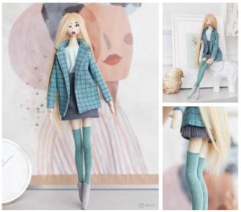 067-1464 Мягкая кукла «Лина», набор для шитья