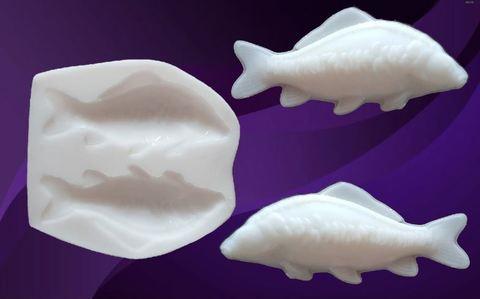 Силиконовый молд № 490 руб Рыбы зеркальные