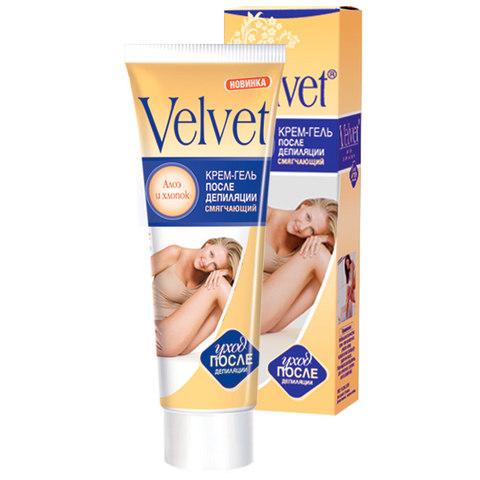 Velvet Крем-гель после депиляции смягчающий с экстрактом хлопка