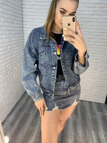 джинсовая куртка на лето женская недорого