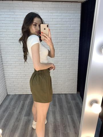 шорты хаки женские интернет магазин